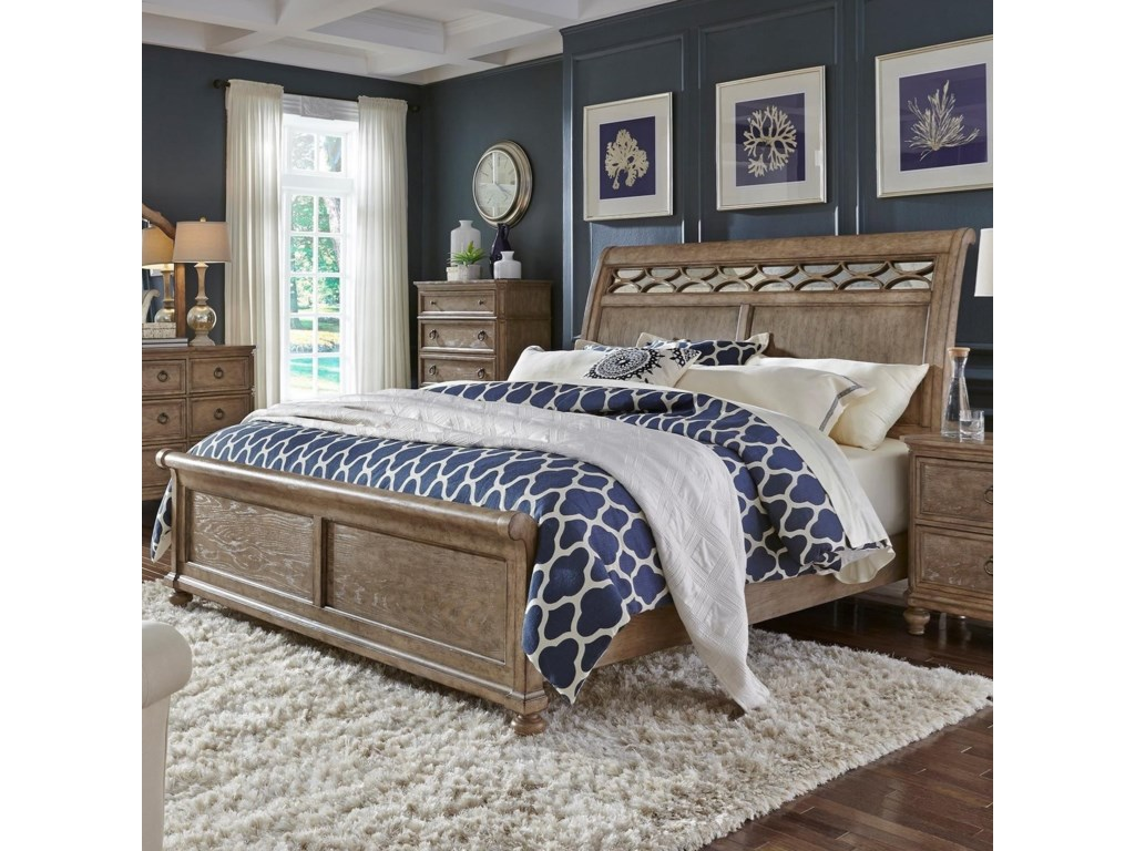 Liberty Furniture 412-BRKing Sleigh Bed