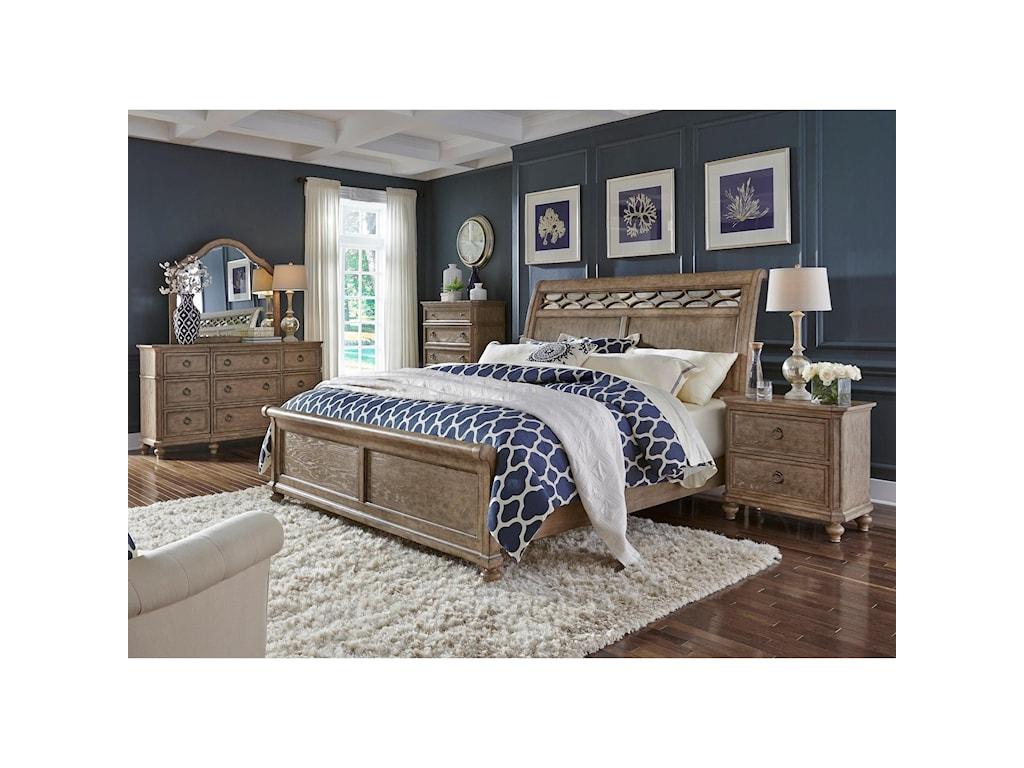 Liberty Furniture 412-BRQueen Sleigh Bed