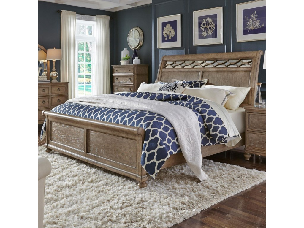 Liberty Furniture Simply ElegantQueen Sleigh Bed