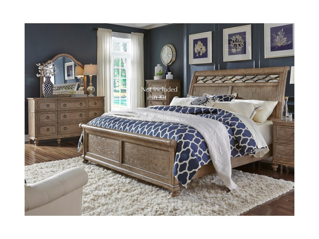 Liberty Furniture 412-BRKing Bedroom Group