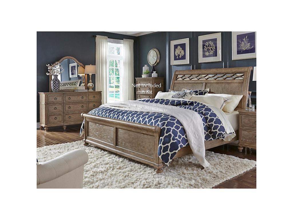 Liberty Furniture 412-BRQueen Bedroom Group