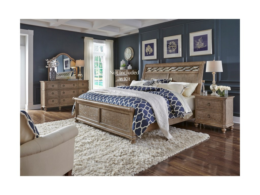Liberty Furniture 412-BRQueen Bedroom Group