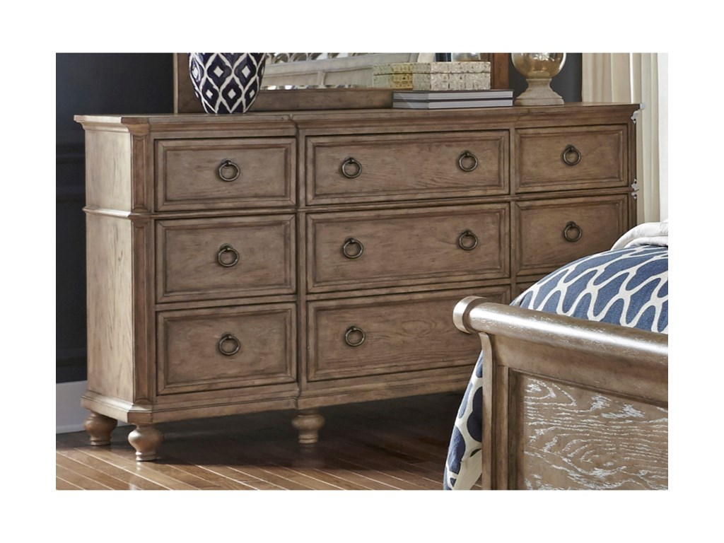 Liberty Furniture 412-BR9 Drawer Dresser