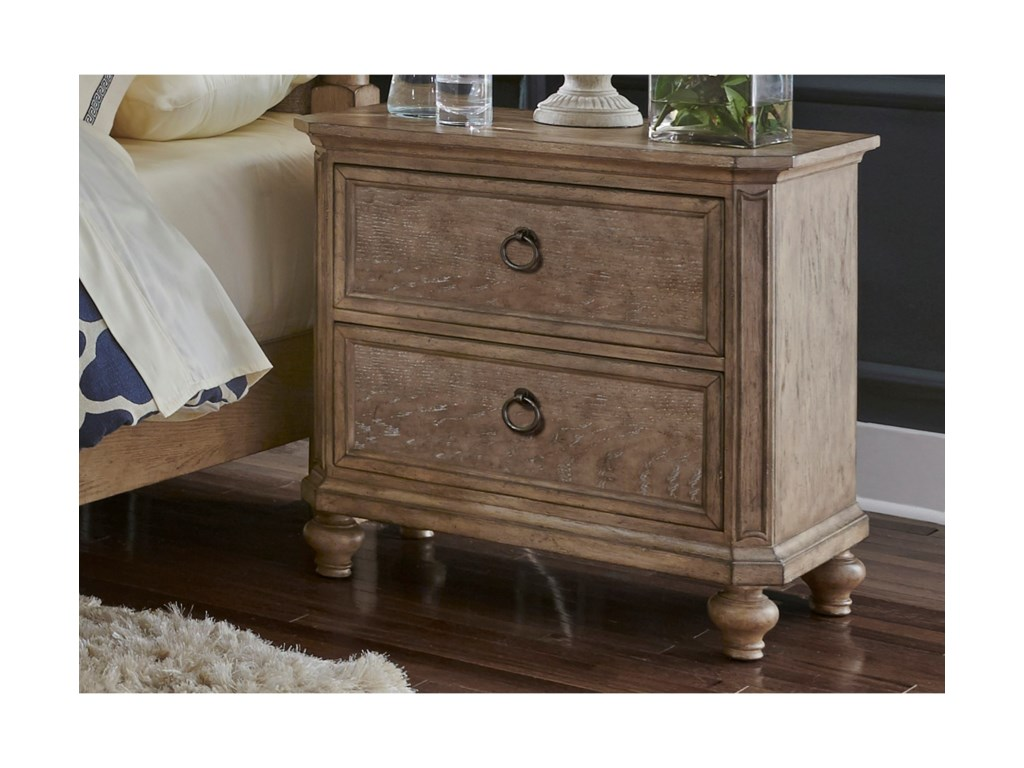 Liberty Furniture 412-BR2 Drawer Night Stand