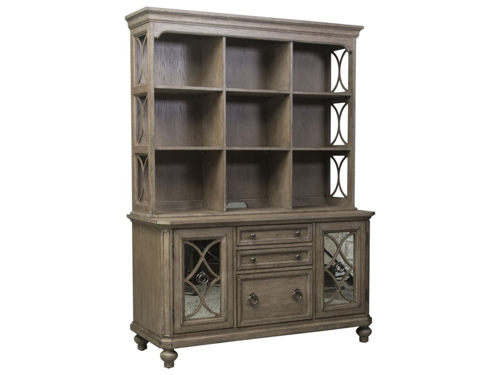 Liberty Furniture Simply ElegantCredenza and Hutch