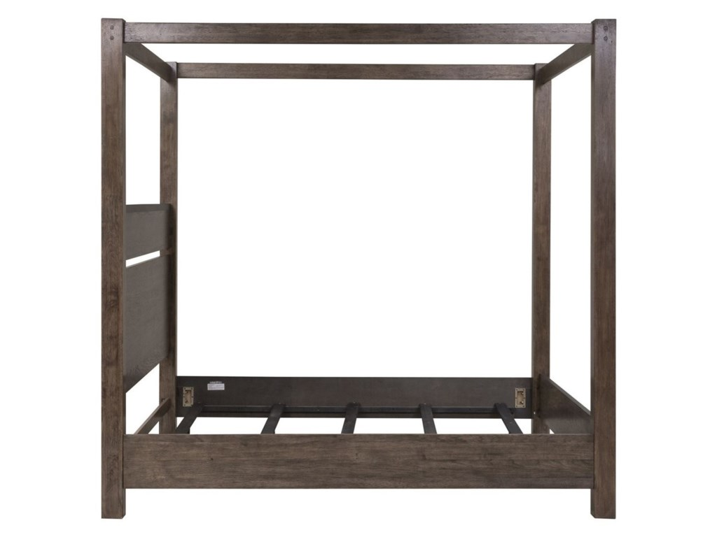 Liberty Furniture SonomaKing Canopy Bed