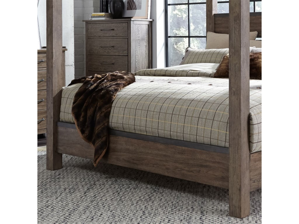 Liberty Furniture Sonoma RoadKing Poster Bed