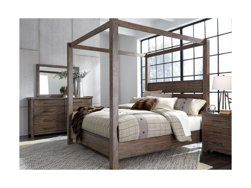 Liberty Furniture SonomaKing Bedroom Group