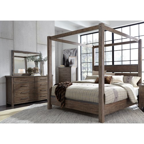 Liberty Furniture Sonoma Road King Bedroom Group