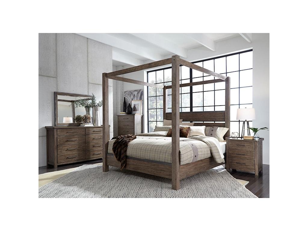 Liberty Furniture Sonoma RoadKing Bedroom Group