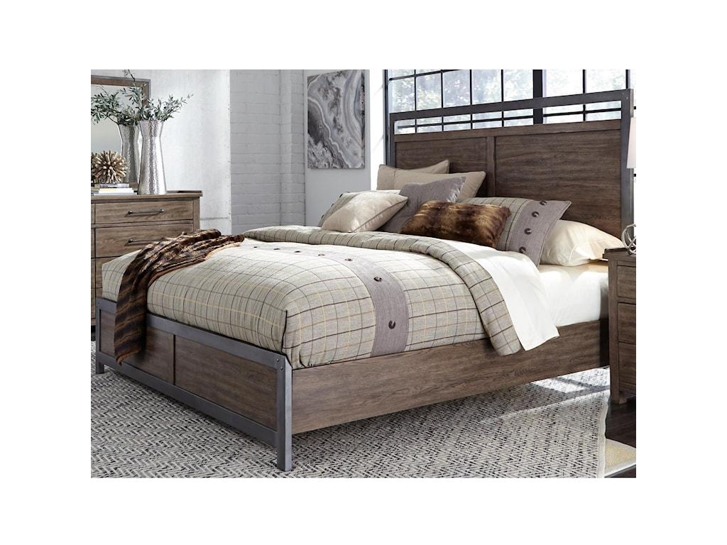 Liberty Furniture Sonoma RoadQueen Panel Bed
