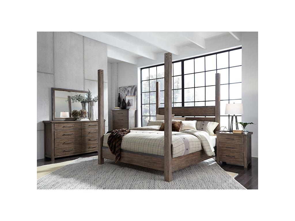Liberty Furniture Sonoma RoadQueen Bedroom Group