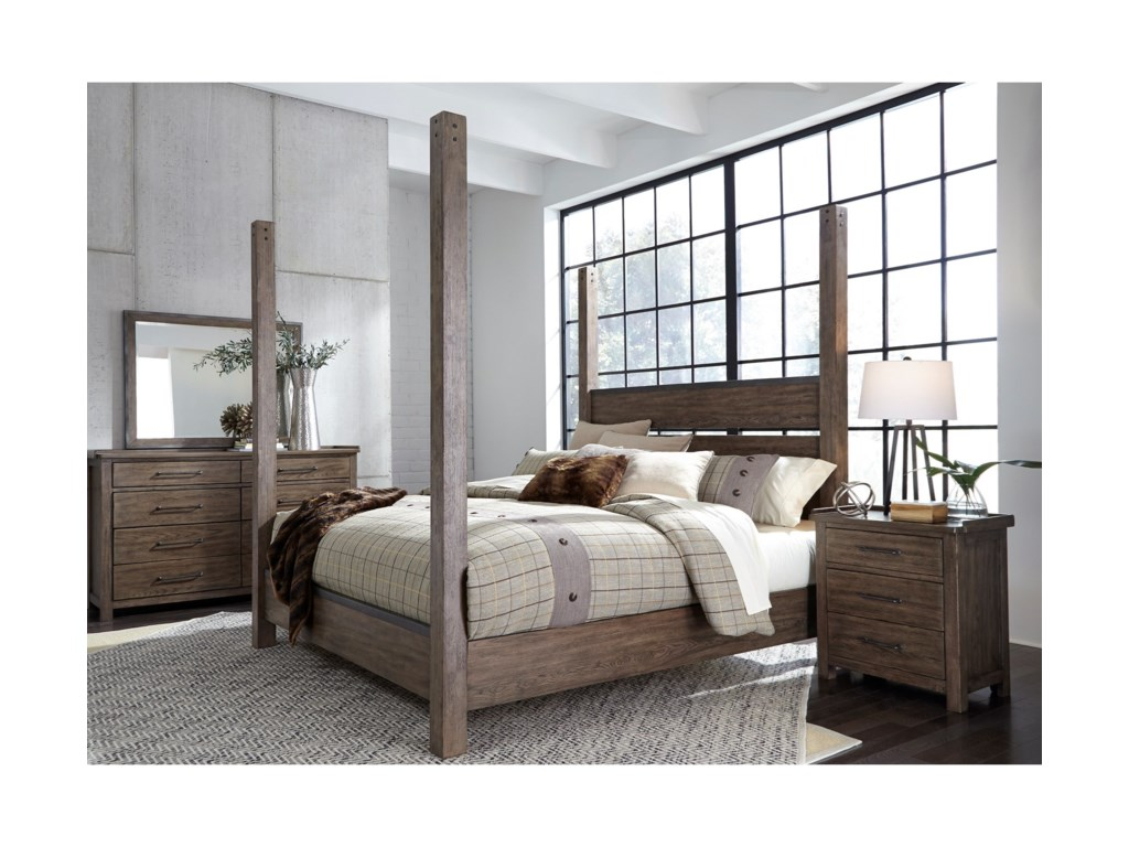 Liberty Furniture Sonoma RoadQueen Bedroom Group