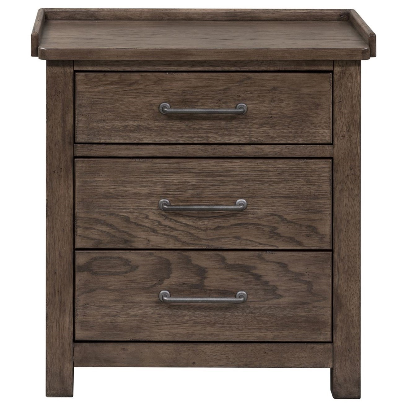 Bedroom Furniture Storage Night Stand Bedside End Table w// 3 Drawer Home Decor
