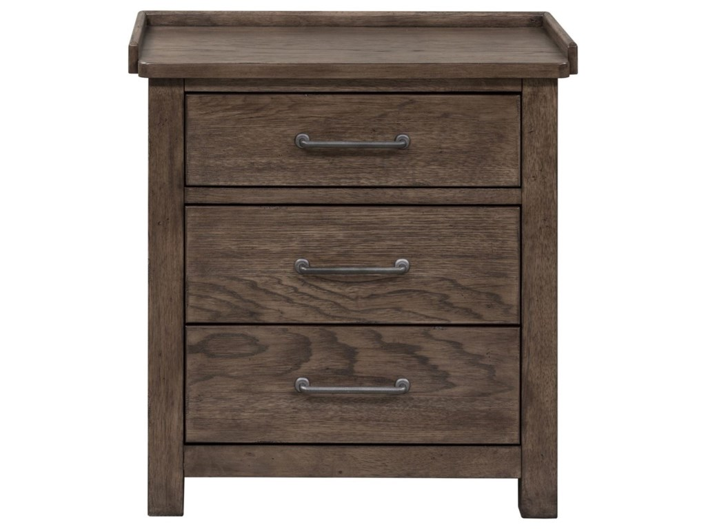 Liberty Furniture Sonoma Road3 Drawer Night Stand