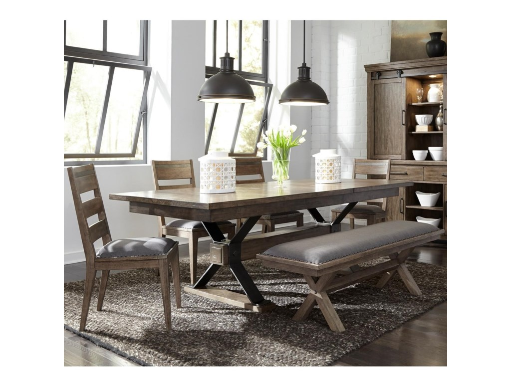 Liberty Furniture Sonoma Road6 Piece Table and Chair Set