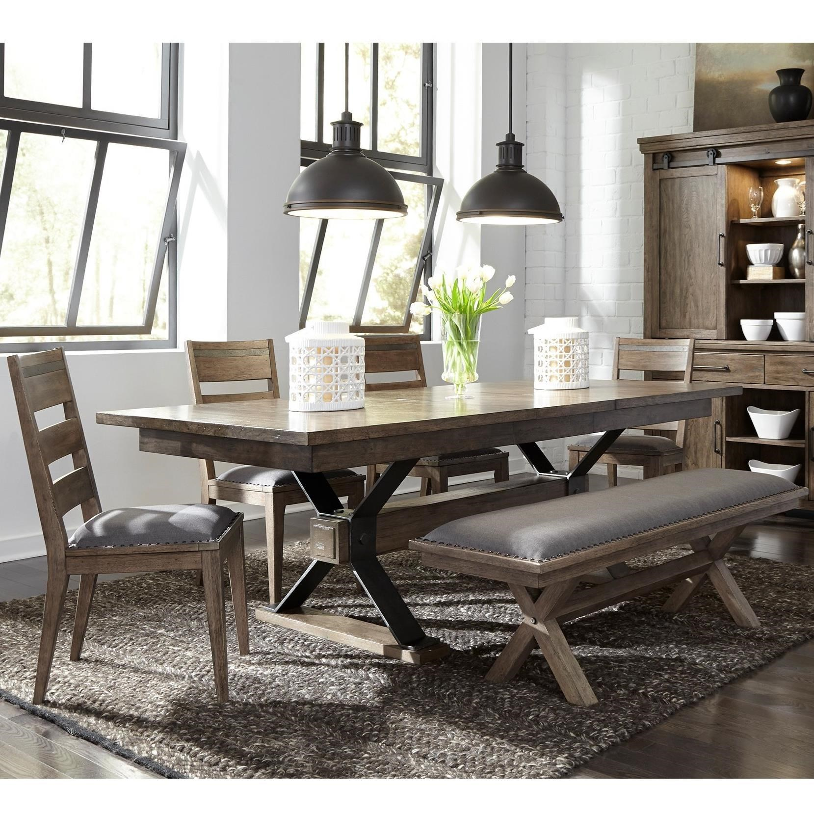 Bon Liberty Furniture Sonoma Road6 Piece Table And Chair Set