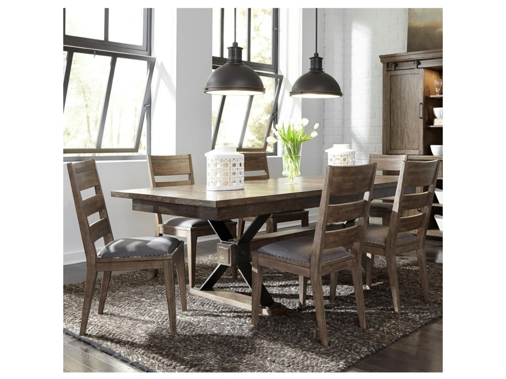 Liberty Furniture Sonoma Road7 Piece Table and Chair Set