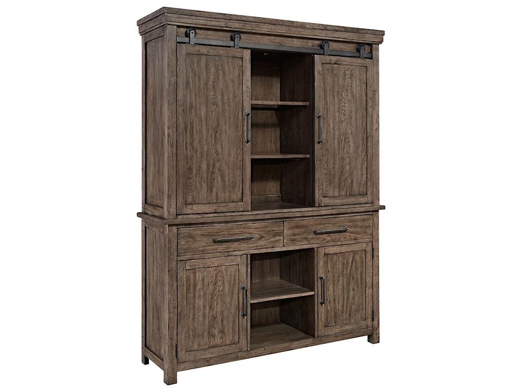 Liberty Furniture Sonoma RoadHutch & Buffet