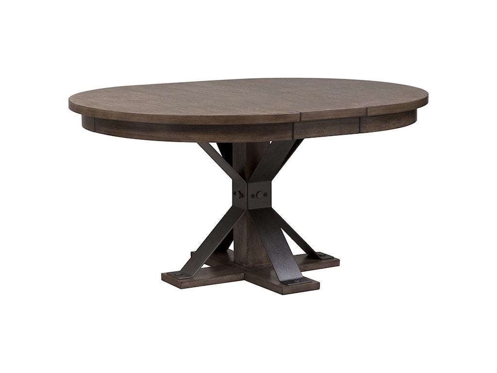 Liberty Furniture Sonoma RoadOval Pedestal Table