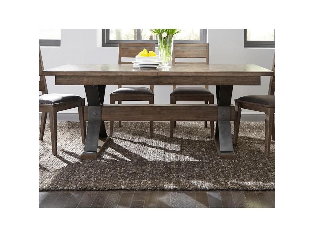 Liberty Furniture Sonoma RoadTrestle Table