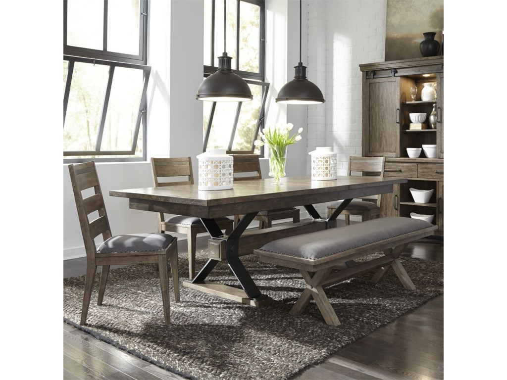 Liberty Furniture Sonoma RoadTrestle Table