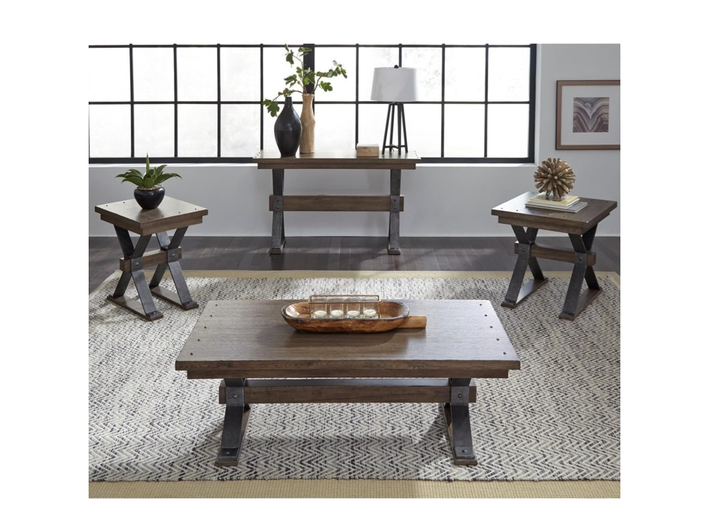Liberty Furniture Sonoma RoadOccasional Table Group