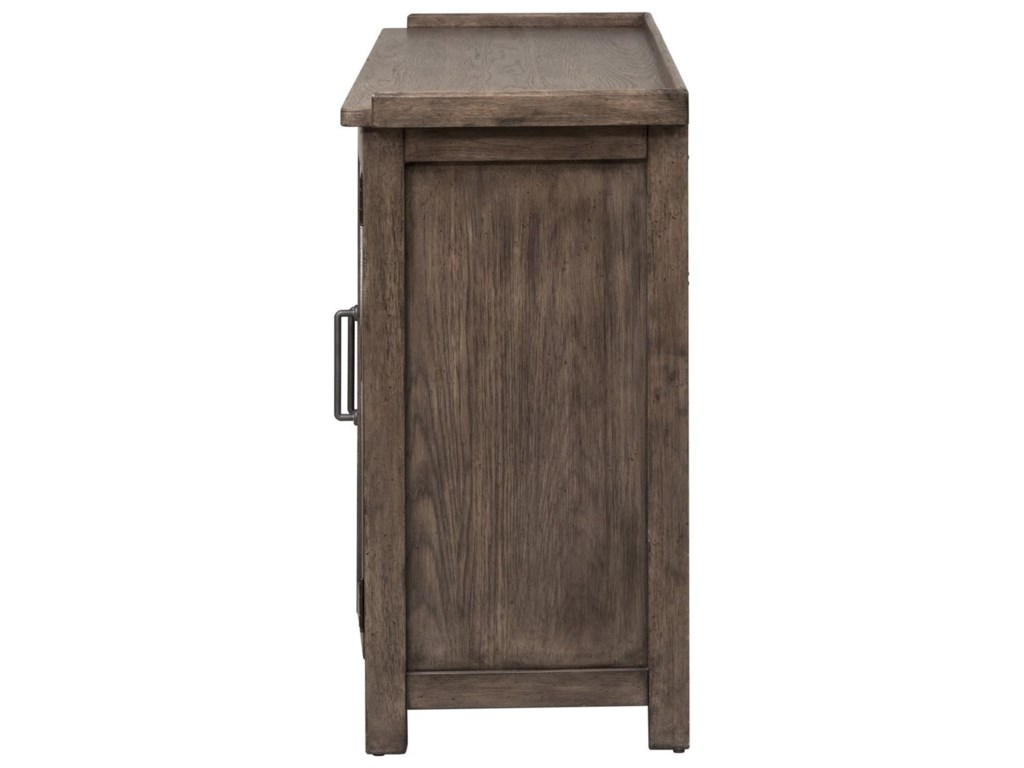Liberty Furniture Sonoma RoadSideboard with Reversible Doors