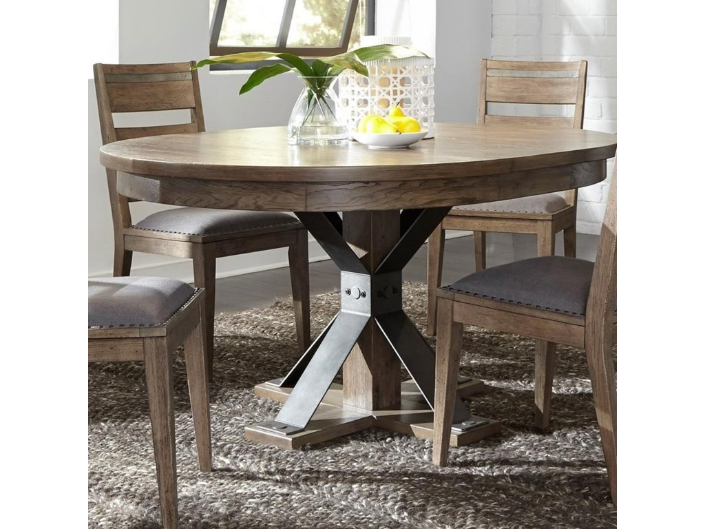 industrial dp length x s early oval oak solid dining height com dooleys pedestal dooley finish table double amazon american width