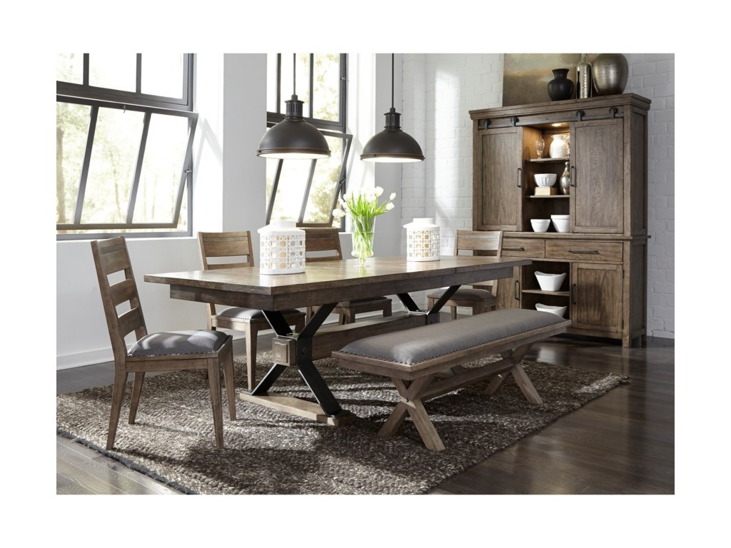 Liberty Furniture Sonoma RoadCasual Dining Room Group