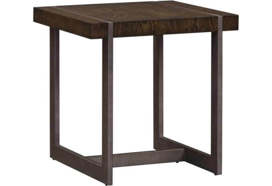 Soro Valley Square End Table