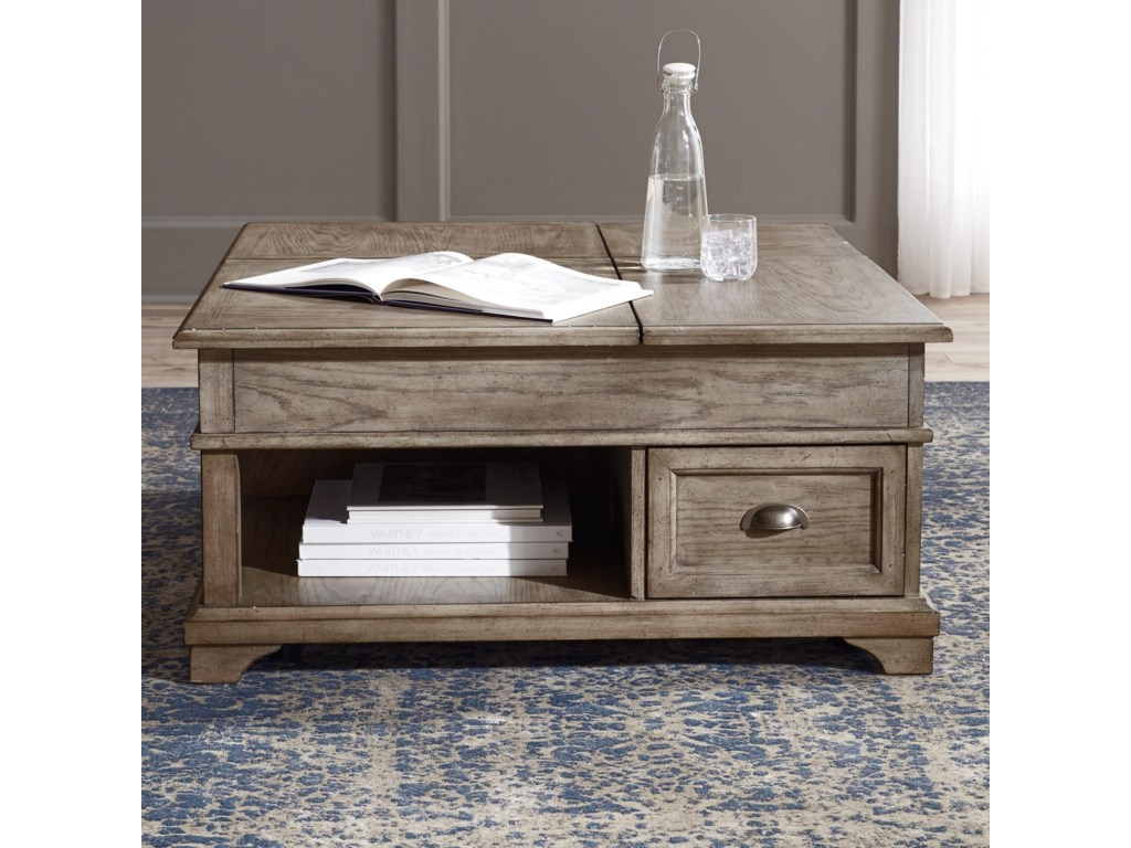Liberty Furniture Southern LivingDouble Lift Cocktail Table