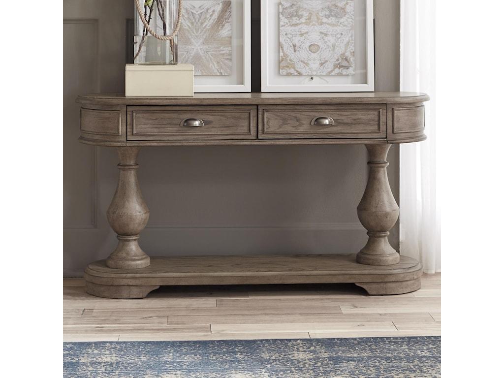 Liberty Furniture Southern LivingDrawer Sofa Table