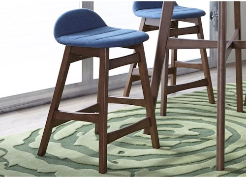Liberty Furniture Space Savers Barstool with Upholstered Seating