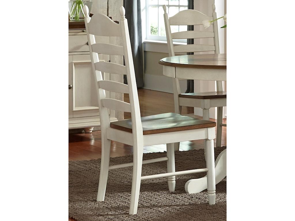 Sarah Randolph Designs Springfield DiningLadder Back Side Chair