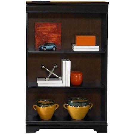 48-Inch Executive Open Bookcase