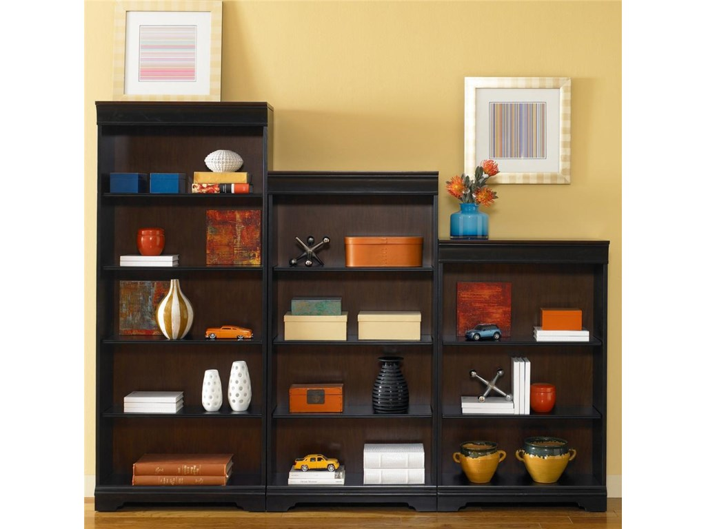 Liberty Furniture St. Ives48-Inch Executive Open Bookcase