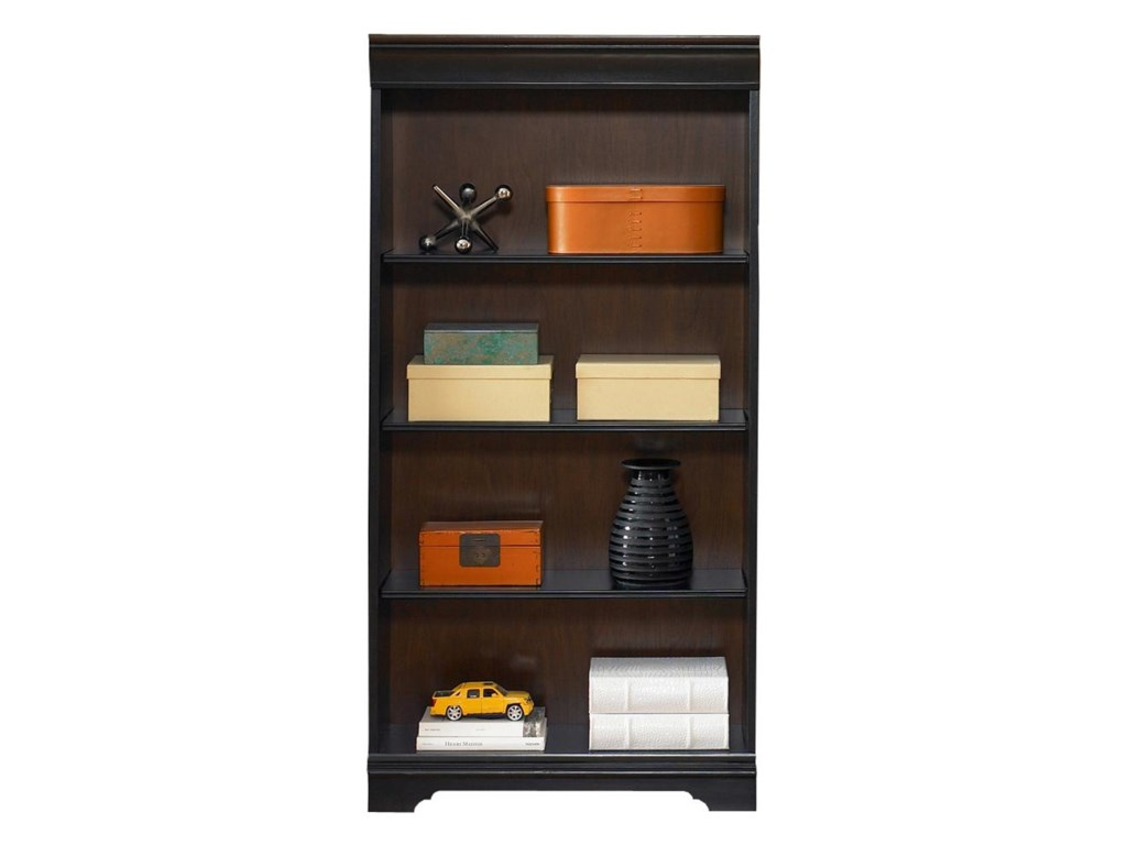 Liberty Furniture St. Ives60-Inch Executive Open Bookcase