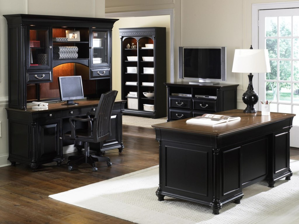 Shown with Chair, Bookcase, and Media Lateral File