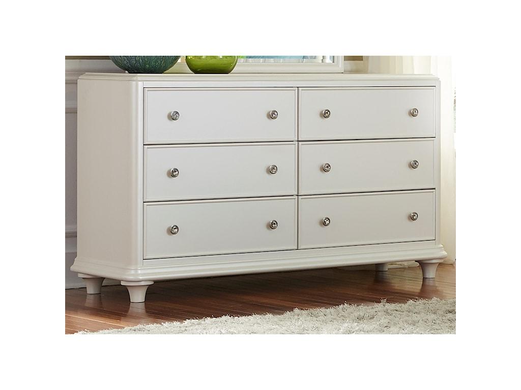 Liberty Furniture Stardust6 Drawer Dresser