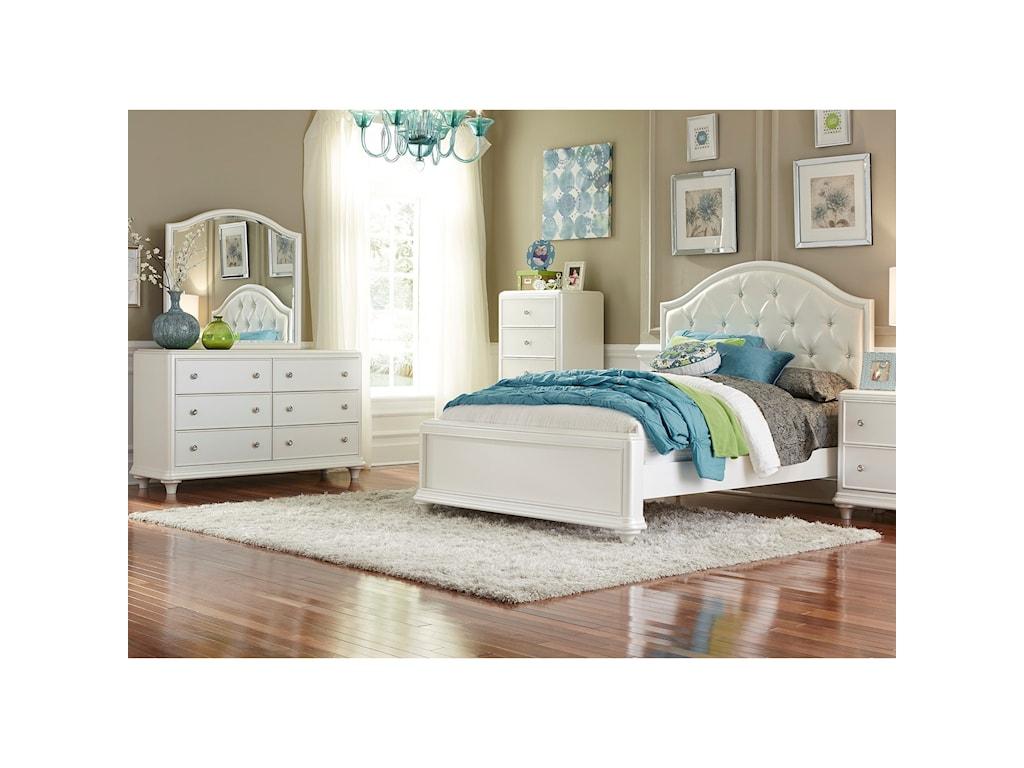 Liberty Furniture StardustFull Panel Bed