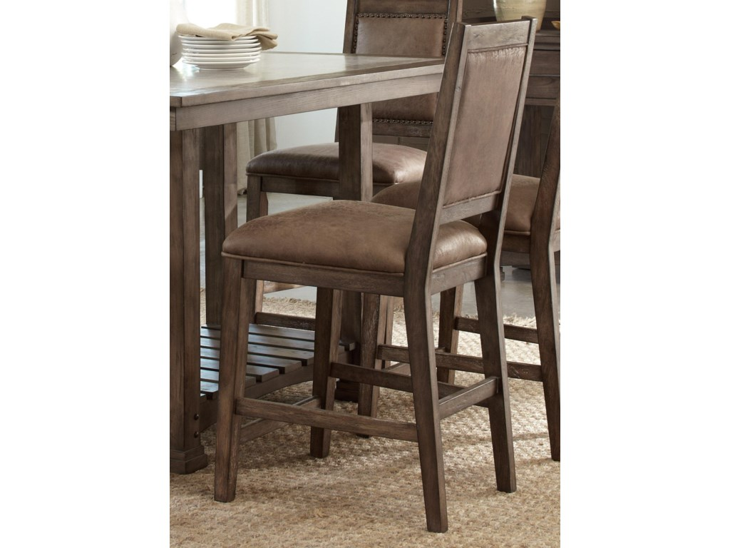 Liberty Furniture Stone BrookUpholstered Counter Chair