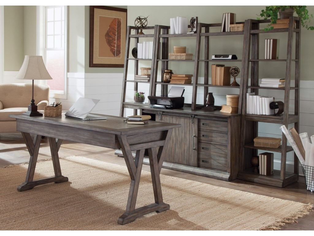 Liberty Furniture Stone Brook5-Piece Desk