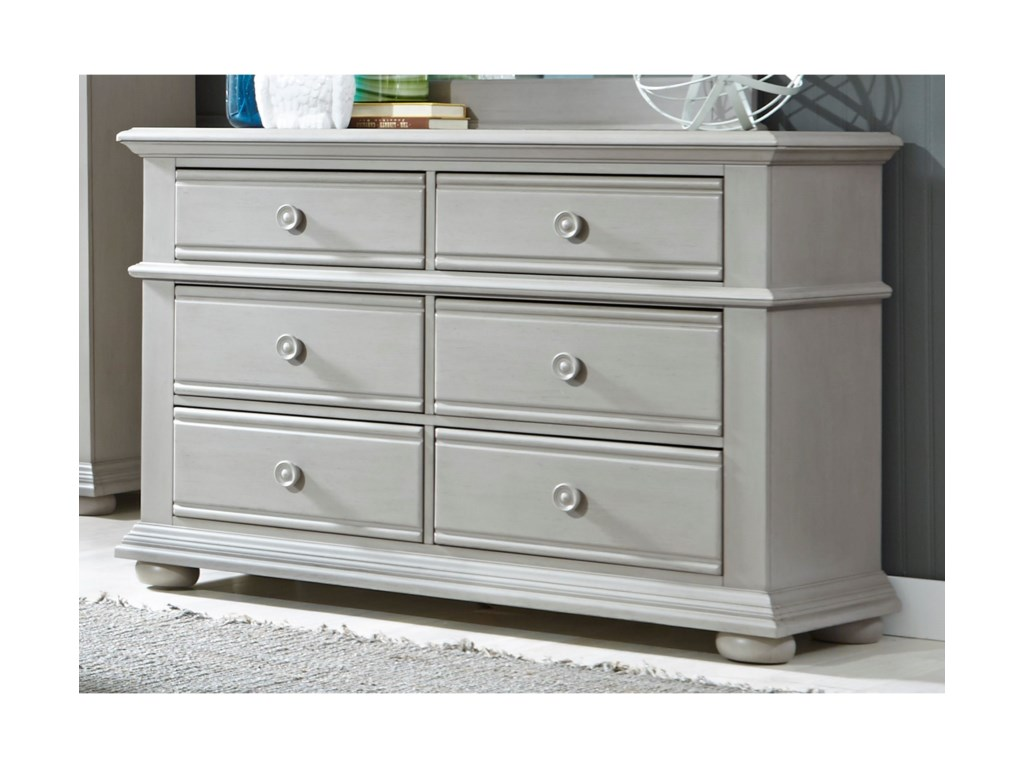 Liberty Furniture Sumer House Youth6 Drawer Dresser