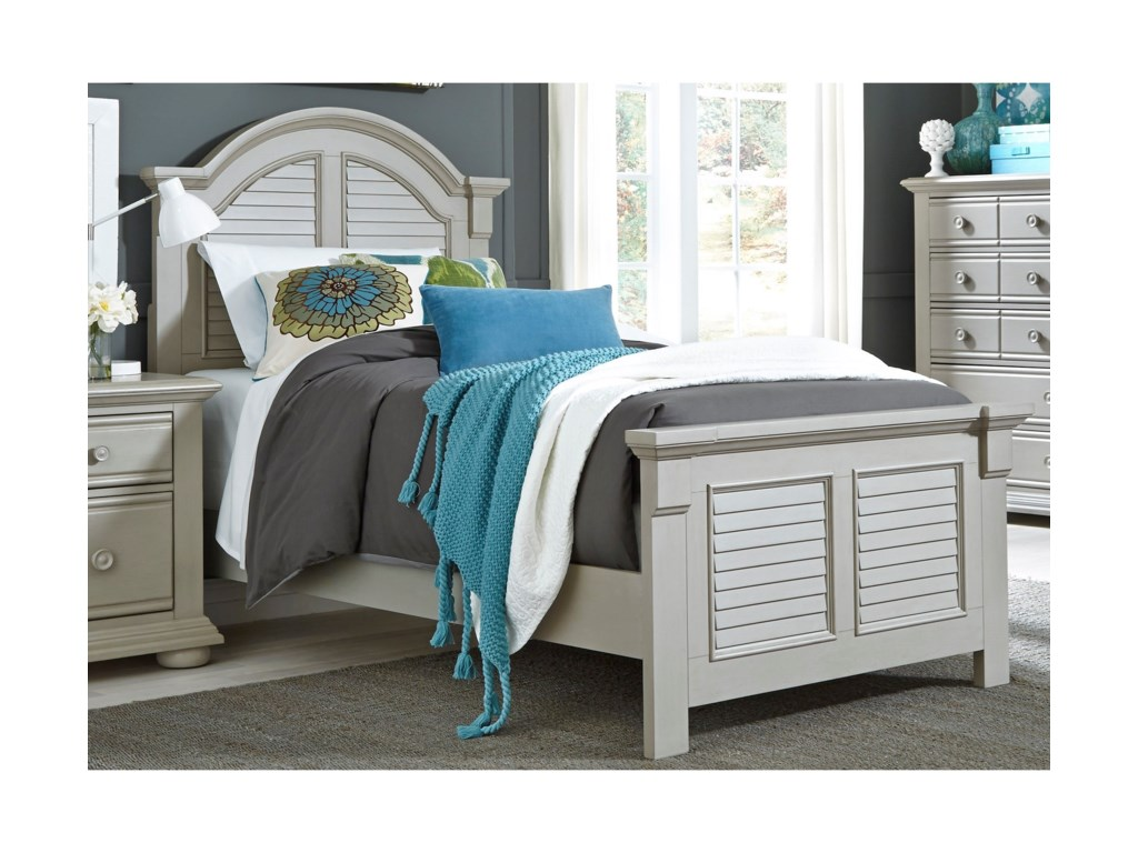 Liberty Furniture Sumer House YouthTwin Panel Bed