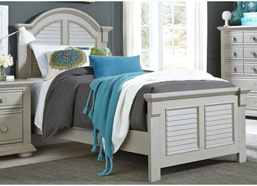 Liberty Furniture Sumer House Youth Twin Panel Bed