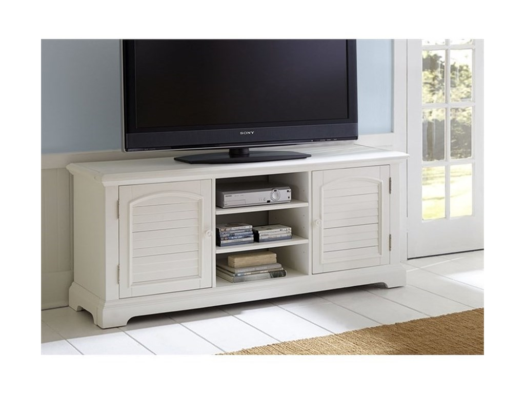 Liberty Furniture Summer House Entertainment Tv Stand With