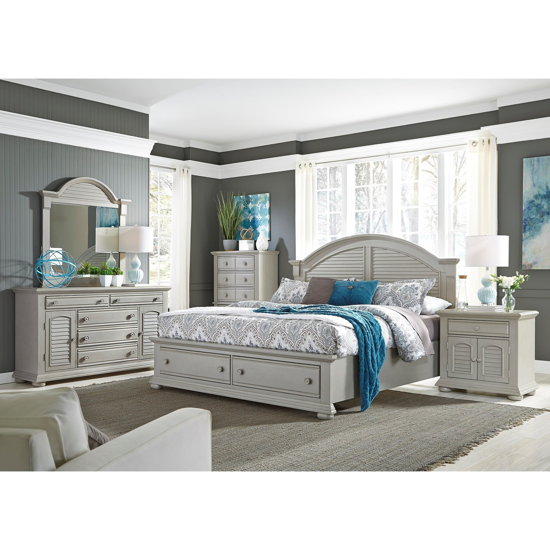 Liberty Furniture Summer House IIQueen Bedroom Group