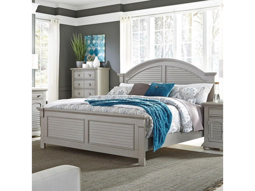 Liberty Furniture Summer House IIKing Panel Bed