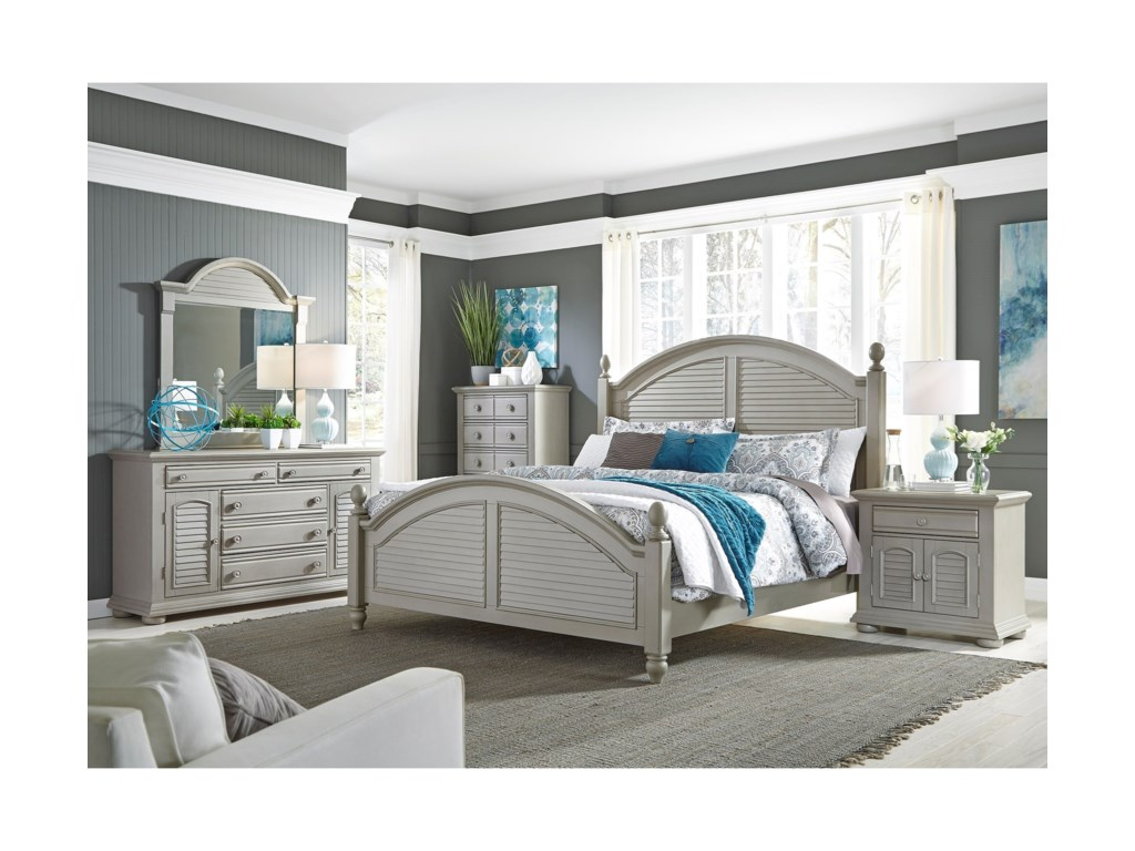 Liberty Furniture Summer House IIKing Poster Bed